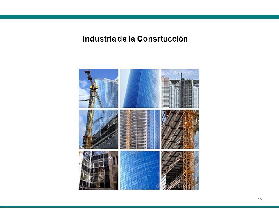19 Industria de la Consrtucción
