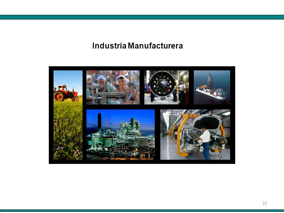 25 Industria Manufacturera