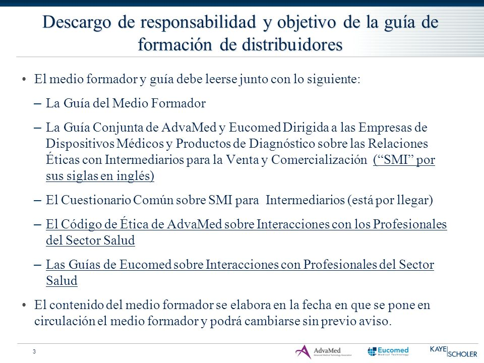 Ejemplos de recursos – códigos del sector El Código de Ética de AdvaMed El Código de Prácticas Comerciales Éticas de Eucomed Los códigos nacionales de ética 24