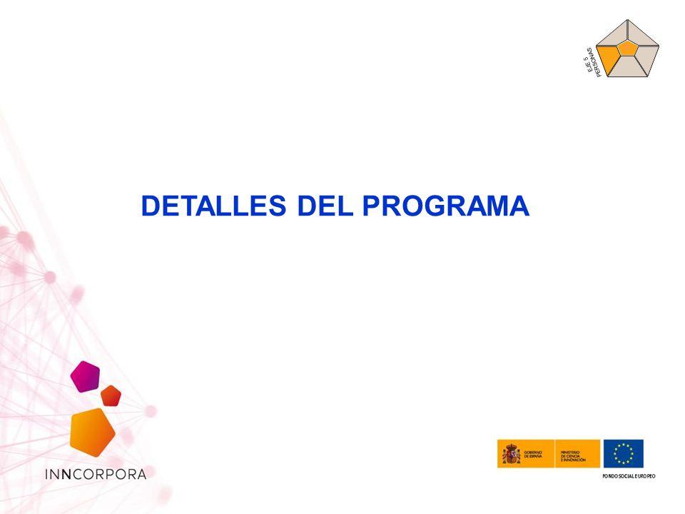 DETALLES DEL PROGRAMA EJE 5 PERSONAS