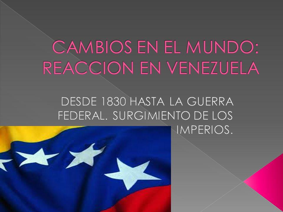 La fundación del Partido Liberal en 1840 y la propagación de sus ideas en el periódico El Venezolano , que dirigía el fundador del Partido Antonio Leocadio Guzmán.