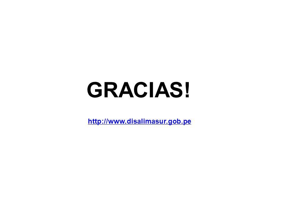 GRACIAS! http://www.disalimasur.gob.pe