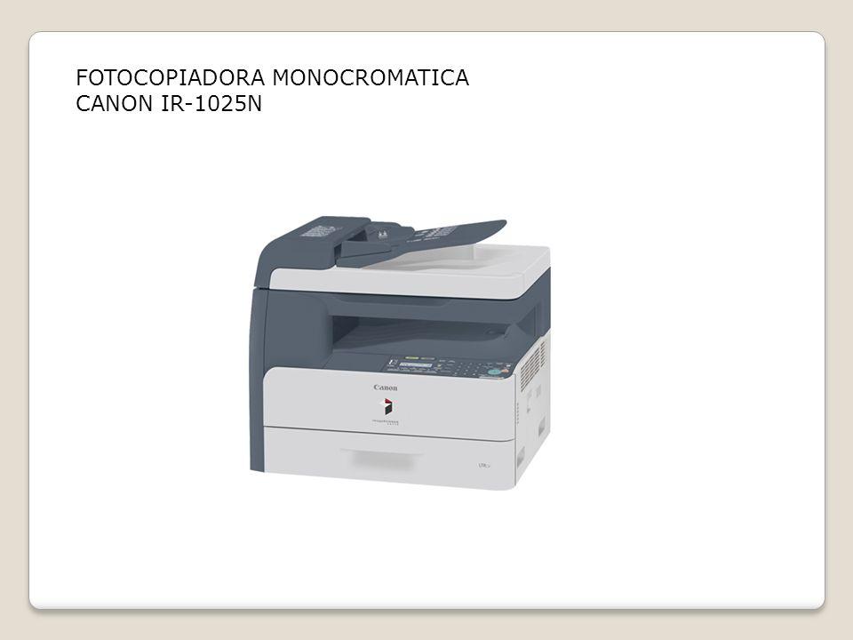 FOTOCOPIADORA MONOCROMATICA CANON IR-1025N