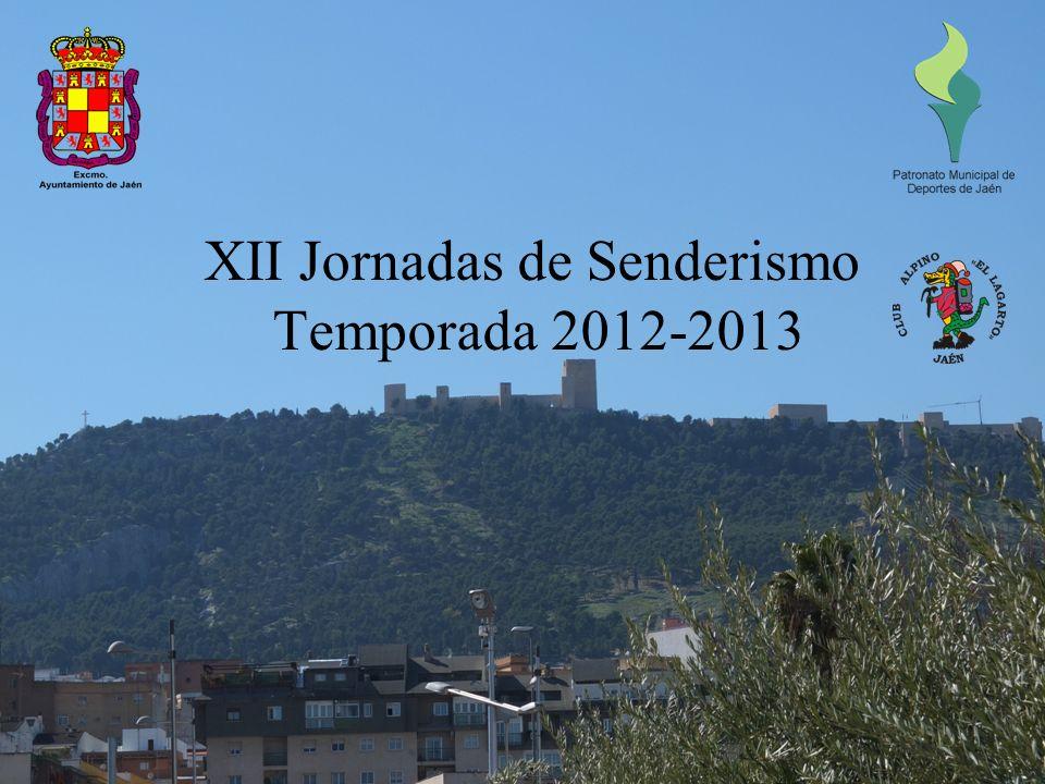 XII Jornadas de Senderismo Temporada 2012-2013