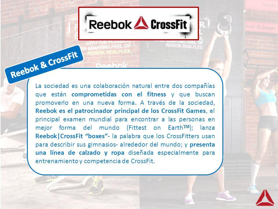 La sociedad es una colaboración natural entre dos compañías que están comprometidas con el fitness y que buscan promoverlo en una nueva forma. A travé