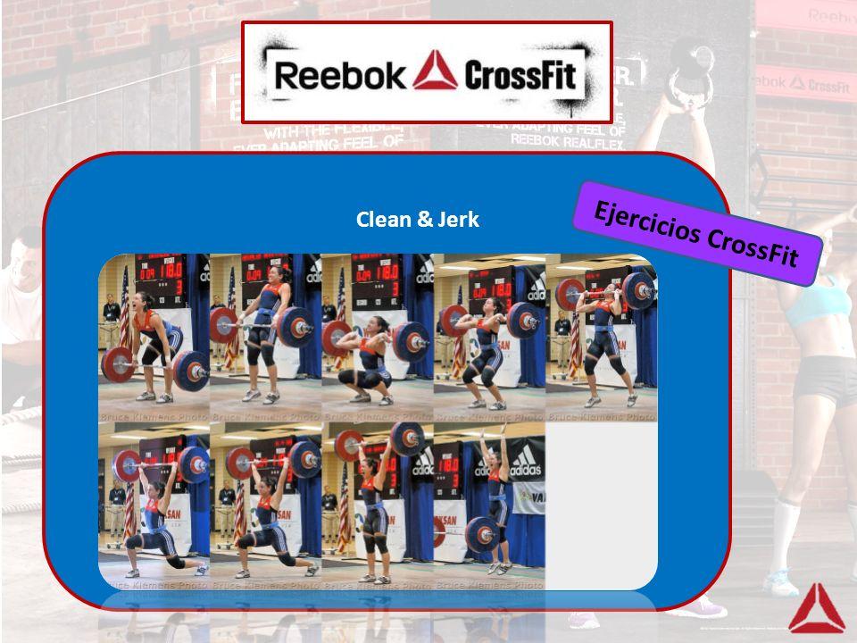Ejercicios CrossFit Clean & Jerk