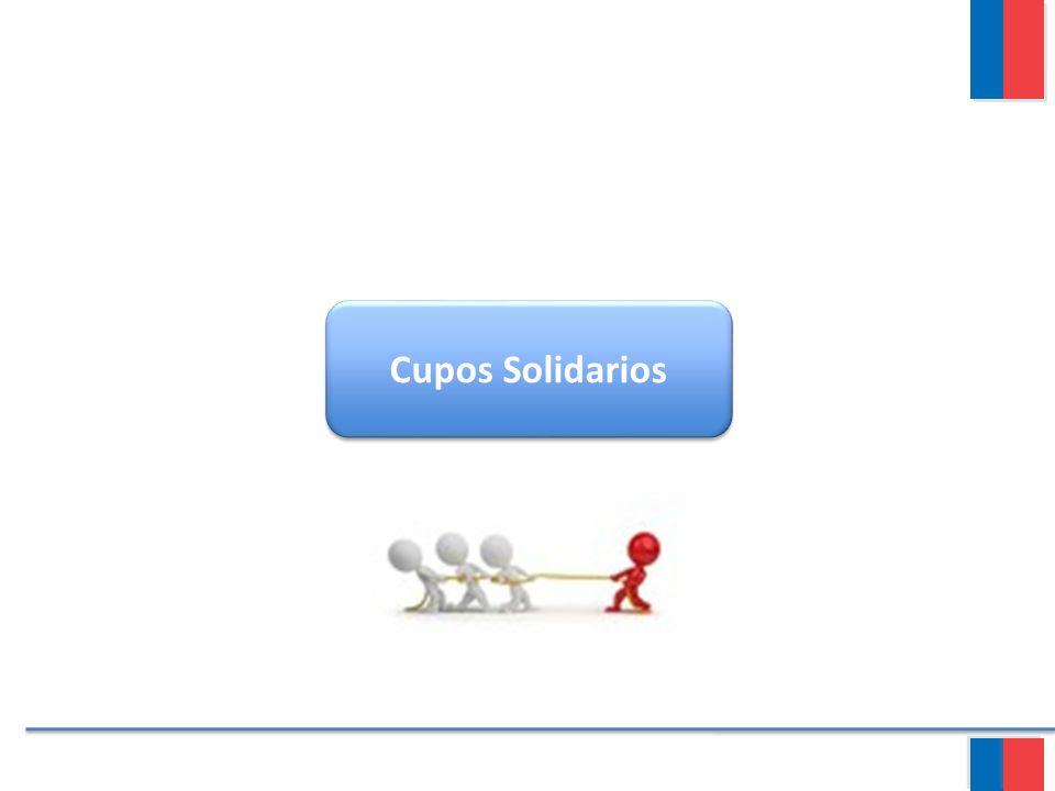 Cupos Solidarios