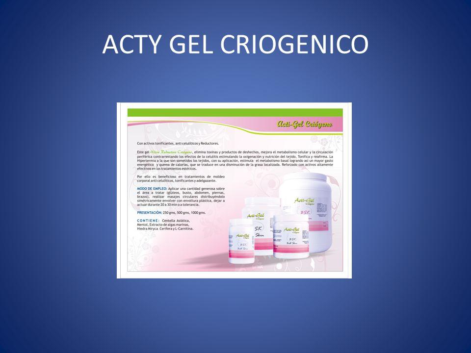 ACTY GEL CRIOGENICO