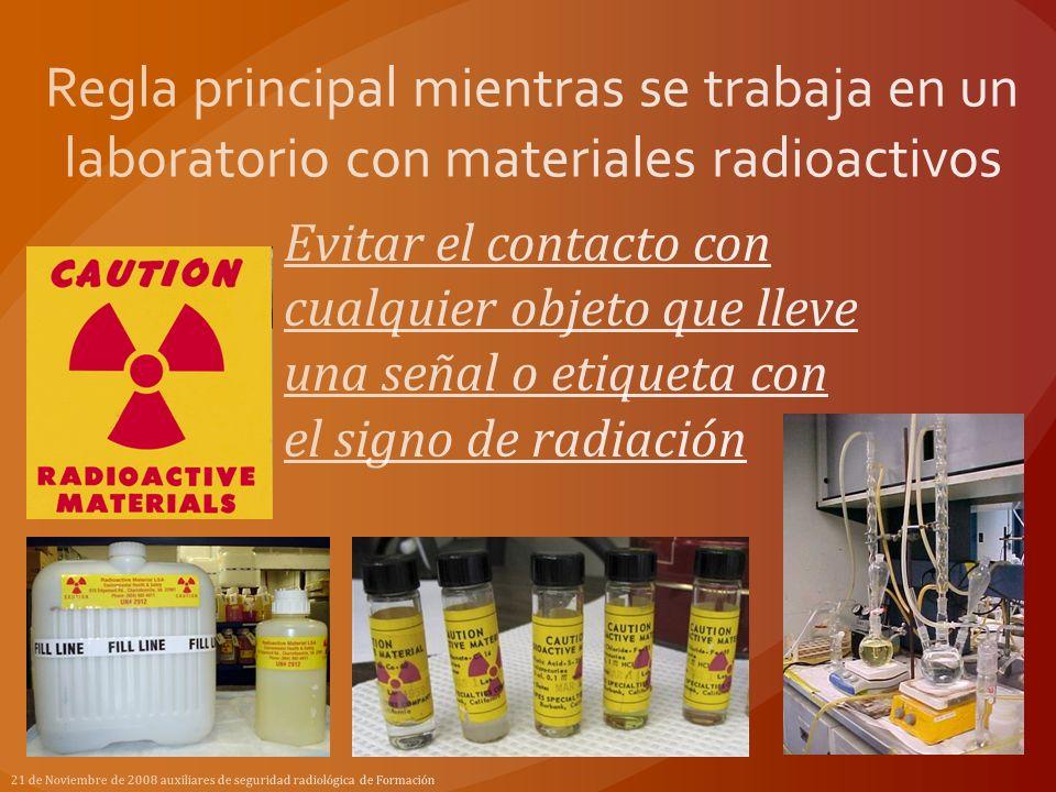 Tipos de radiación por iones 21 de Noviembre de 2008 auxiliares de seguridad radiológica de Formación Longitud de onda larga Menor energia (mayor longitud de onda)Mayor energia (menor longitud de onda) Longitud de onda corta Aluminio Plomo