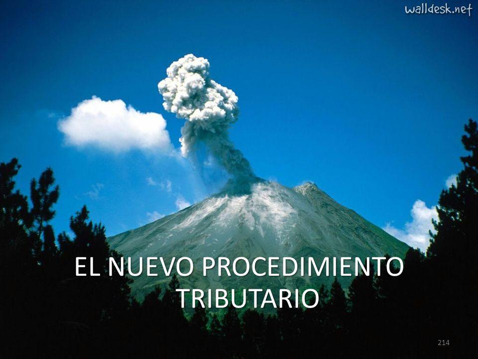 EL NUEVO PROCEDIMIENTO TRIBUTARIO 214