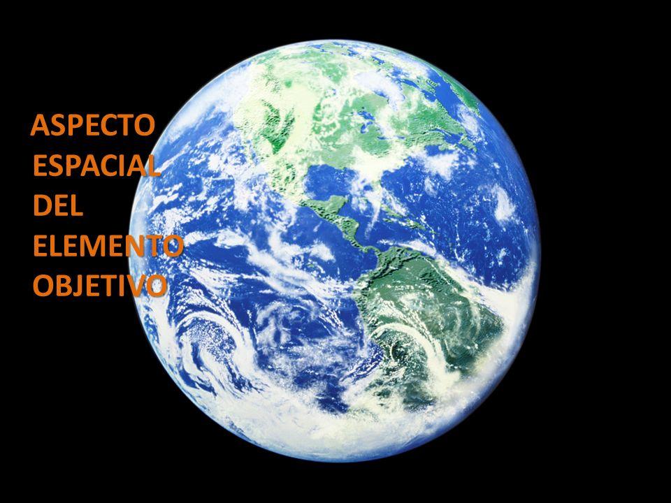 ASPECTO ESPACIAL DEL ELEMENTO OBJETIVO ASPECTO ESPACIAL DEL ELEMENTO OBJETIVO