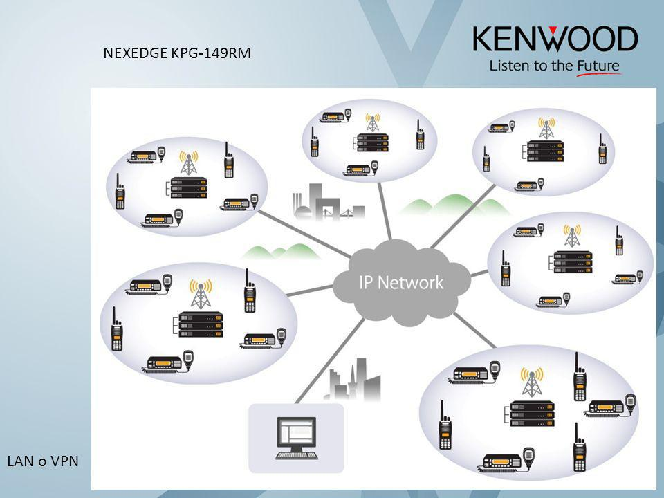 LAN o VPN NEXEDGE KPG-149RM
