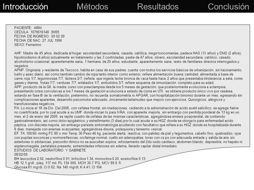 Lenguaje Natural (Texto) Método: Minería de textos Introducción Métodos Resultados Conclusión Datos estructurados