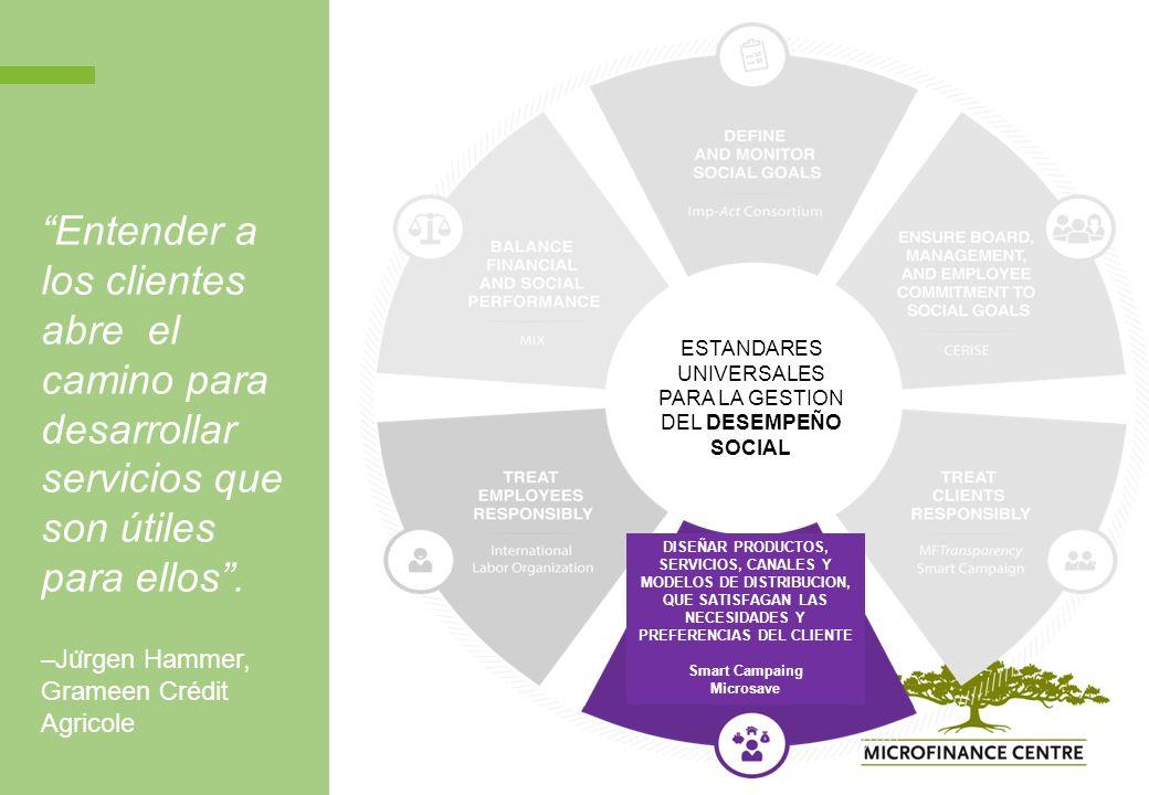 Entender a los clientes abre el camino para desarrollar servicios que son útiles para ellos.