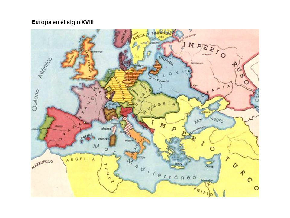 Europa en el siglo XVIII