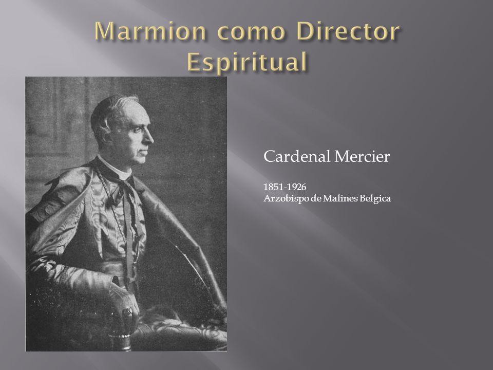 Cardenal Mercier 1851-1926 Arzobispo de Malines Belgica