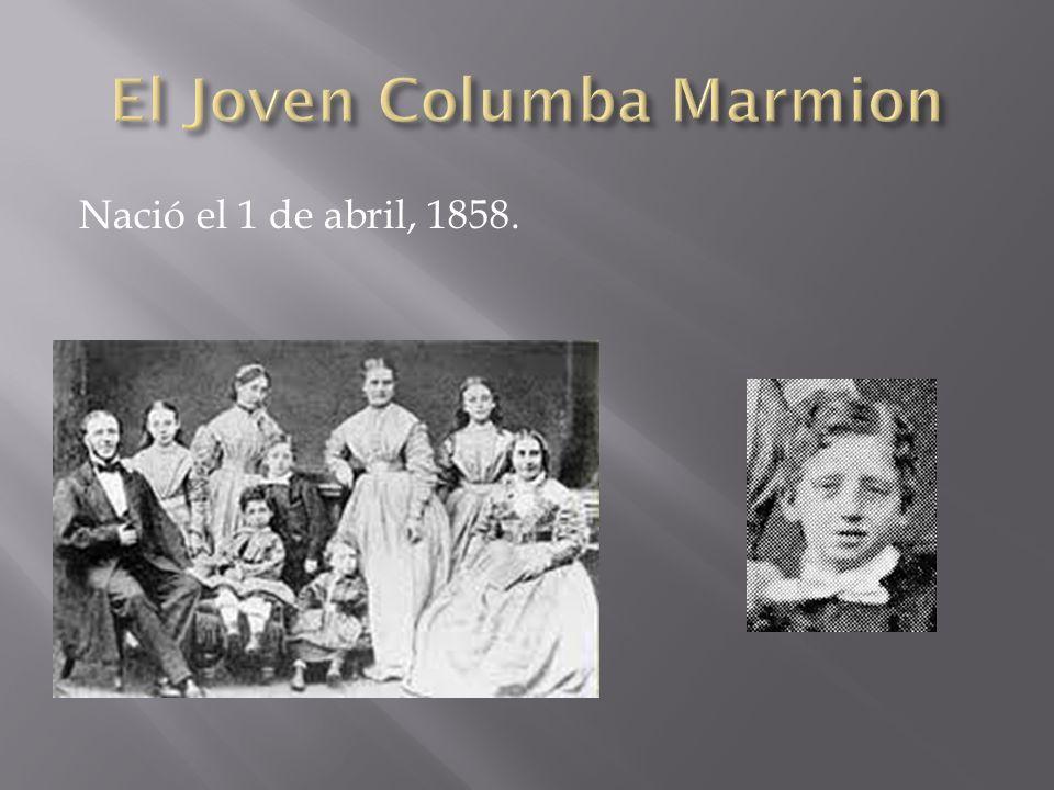 Fue ordenado el 16 de junio de 1881 Trabajó como maestro del seminario entre 1882-1886
