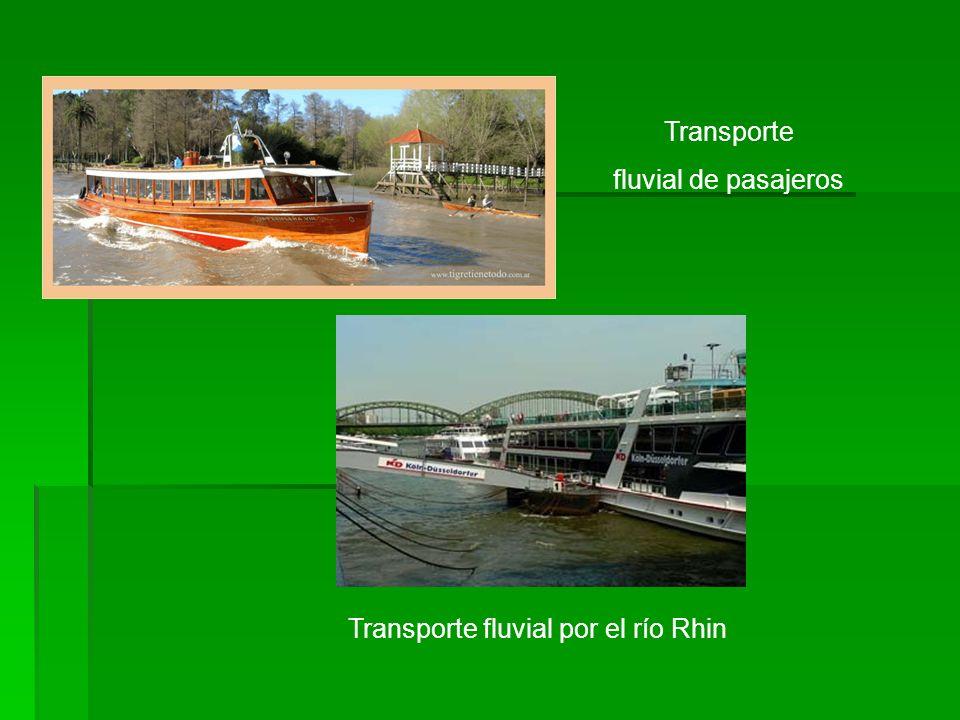 Transporte fluvial por el río Rhin Transporte fluvial de pasajeros