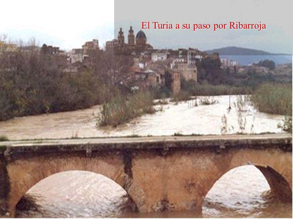 Su curso alto es torrencial, por lo que baja veloz por gargantas y rápidos. Sirve de límite entre las provincias de Teruel y Valencia y penetra en ter
