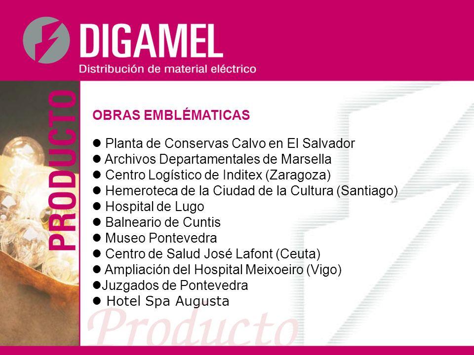 OBRAS EMBLÉMATICAS Planta de Conservas Calvo en El Salvador Archivos Departamentales de Marsella Centro Logístico de Inditex (Zaragoza) Hemeroteca de