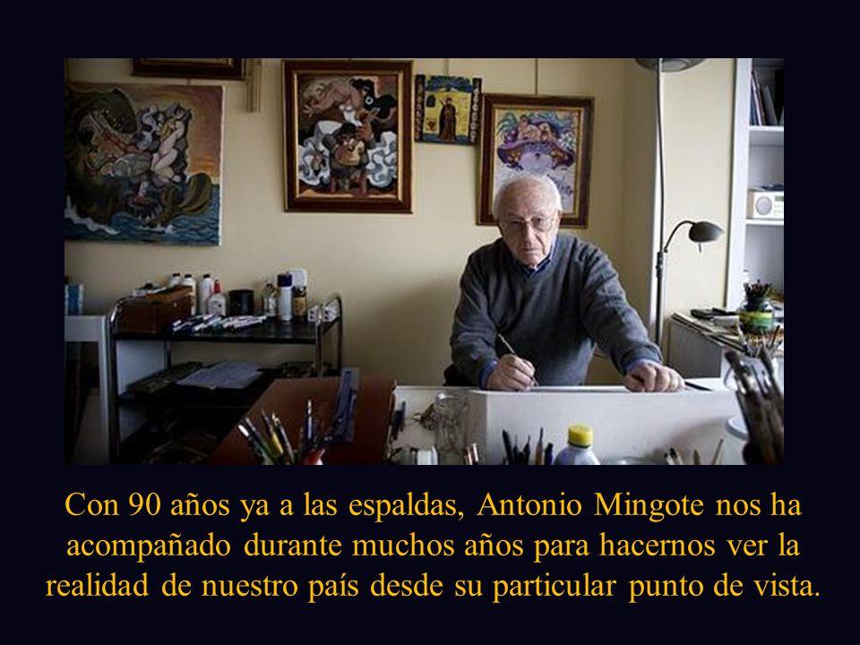Con Audio Los personajes de Mingote pasean por Madrid