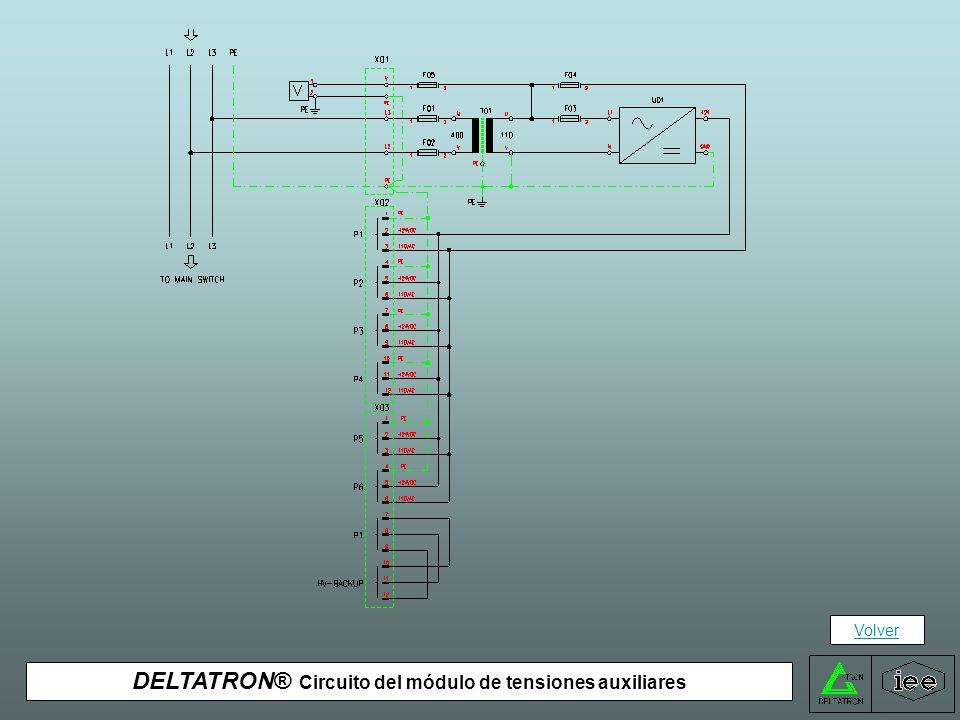 DELTATRON® Circuito de una salida del módulo de BT Volver