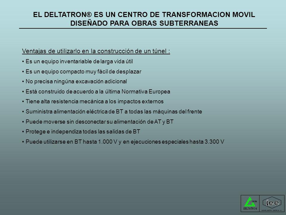 DELTATRON-T® Estación transformadora móvil hasta 1.250 kVA Volver