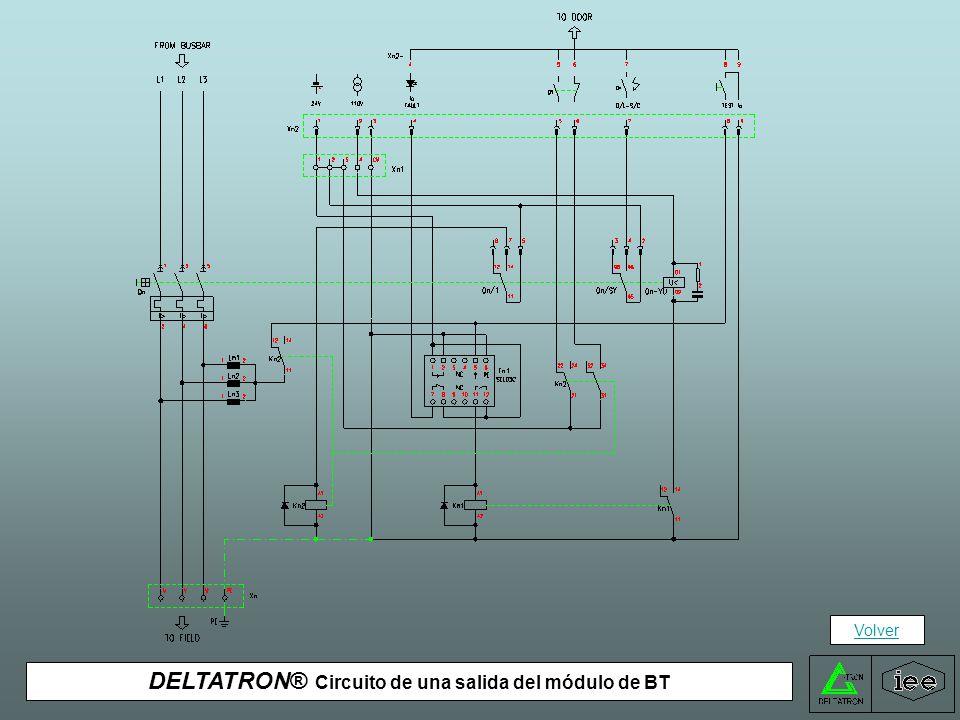DELTATRON® Circuito del módulo general de protección de BT Volver