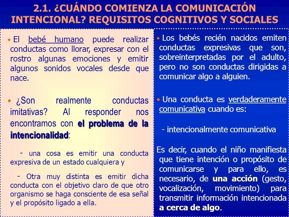 2.1.¿CUÁNDO COMIENZA LA COMUNICACIÓN INTENCIONAL.