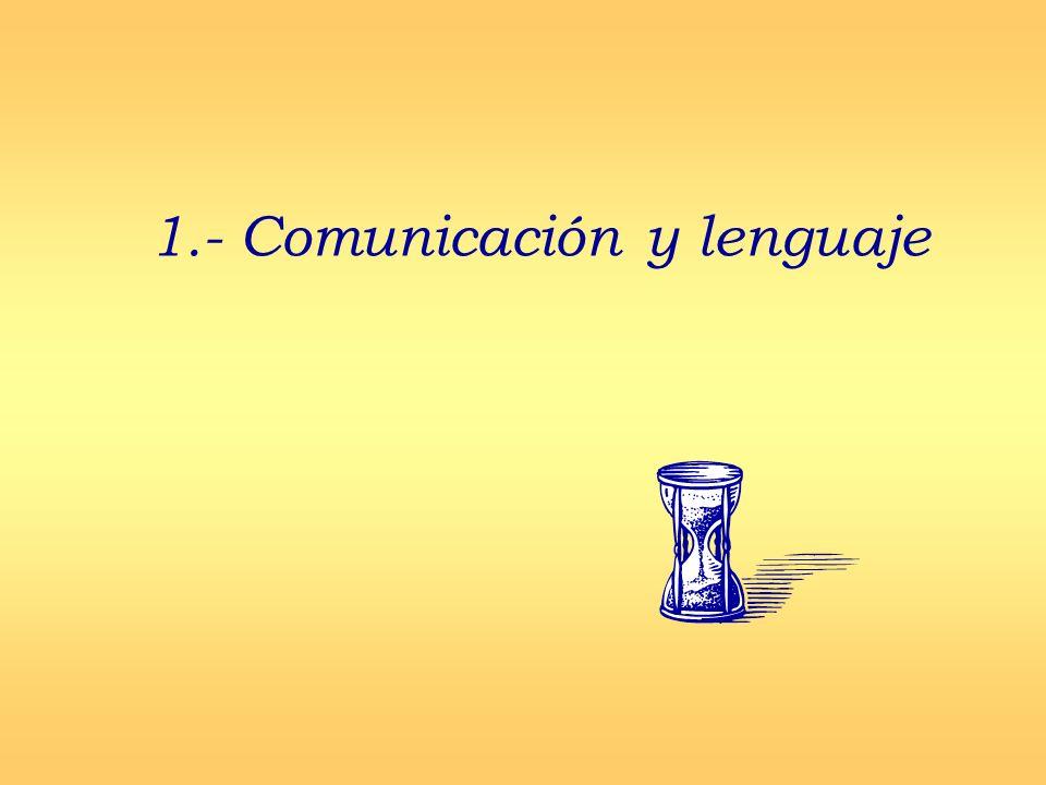 ComunicaciónenguajeComunicación y lenguaje no son sinónimos.