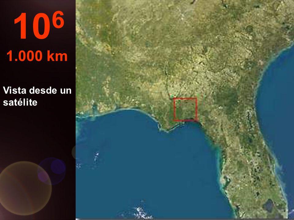 A esta altura, una provincia entera puede ser visto por completo... 10 5 100 km