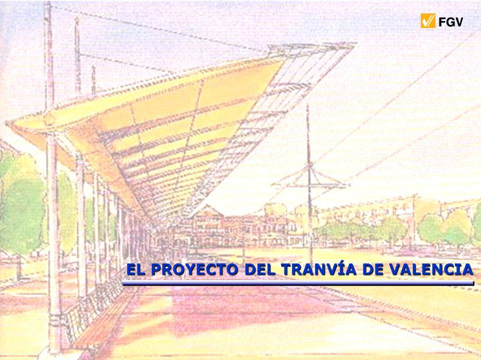 EL PROYECTO DEL TRANVÍA DE VALENCIA