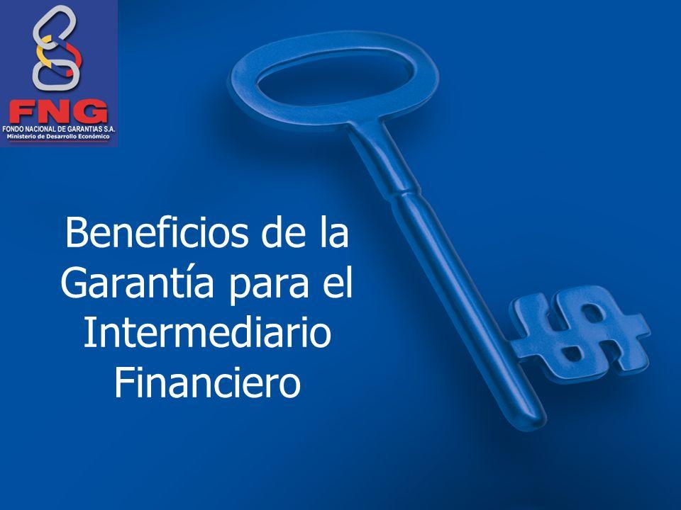 Beneficios de la Garantía para el Intermediario Financiero