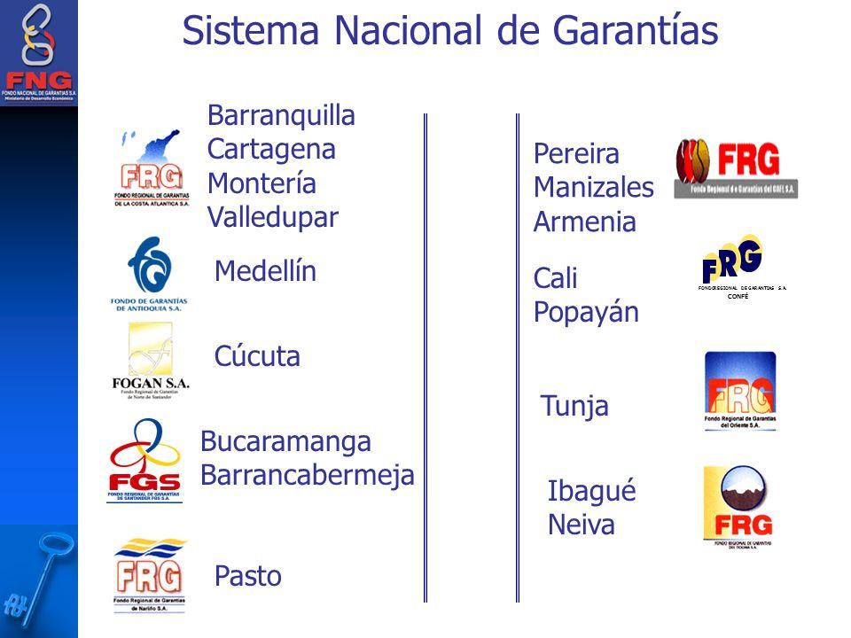 Sistema Nacional de Garantías FONDO REGIONAL DE GARANTIAS S.A.