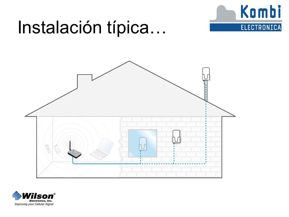 Instalación típica…