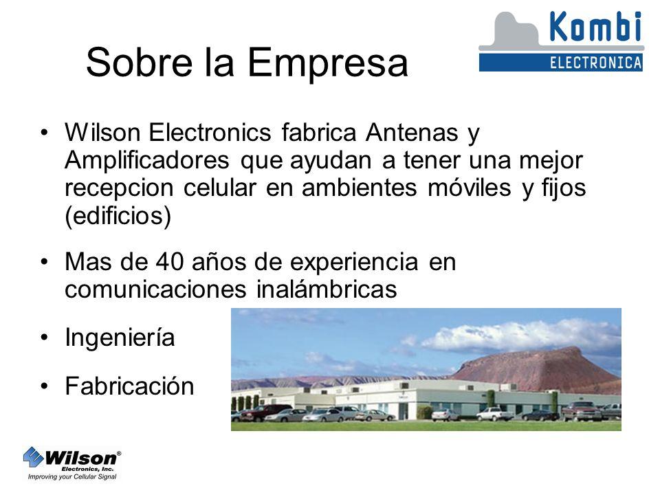 Productos para Nextel Hay dos amplificadores de edificio para Nextel: –804005: 50 dB de ganancia Cobertura: Hasta 500 m² ó más –804006: 60 dB de ganancia Cobertura: Hasta 1500 m² ó más