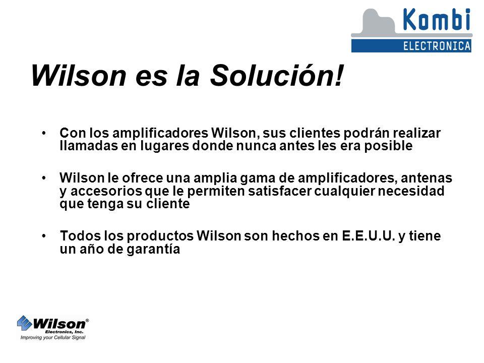 Wilson es la Solución.
