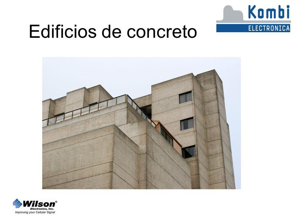 Edificios de concreto