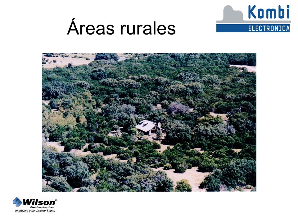 Áreas rurales