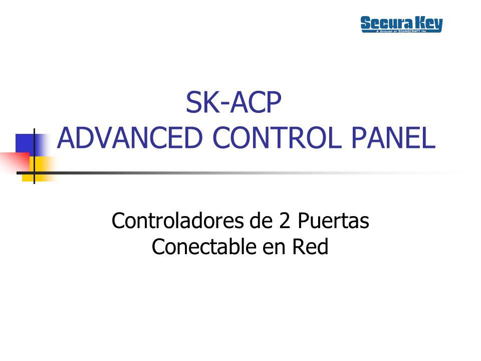 SK-ACP ADVANCED CONTROL PANEL Controladores de 2 Puertas Conectable en Red