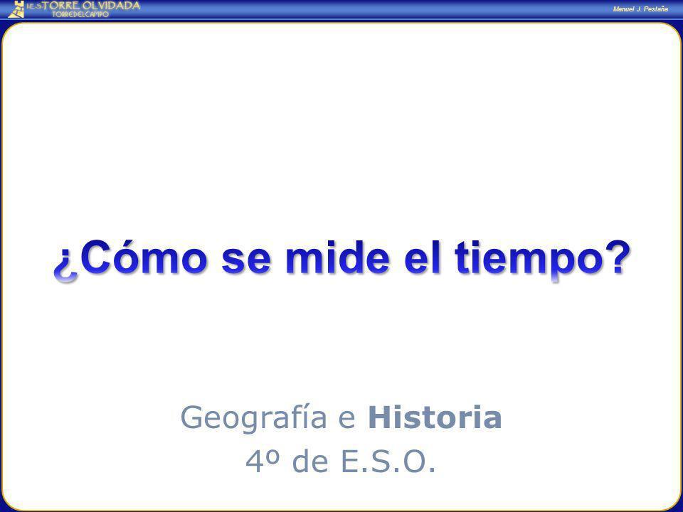 Manuel J. Pestaña Geografía e Historia 4º de E.S.O.