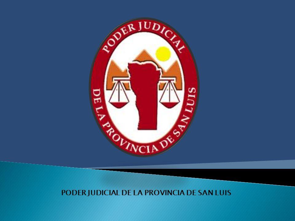 PODER JUDICIAL DE LA PROVINCIA DE SAN LUIS