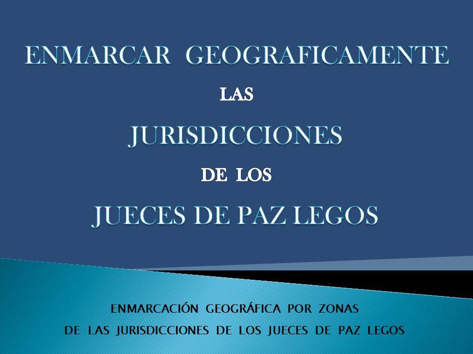 ENMARCACIÓN GEOGRÁFICA POR ZONAS DE LAS JURISDICCIONES DE LOS JUECES DE PAZ LEGOS ZONA ARIZONA Desde coordenada 3507523.27,6090002.82 hasta coordenada 3581349.34,6090424.27;por el límite este y sur del departamento Gobernador Dupuy hasta la intersección con ruta provincial 3; por ruta provincial 3 hasta le coordenada de inicio.