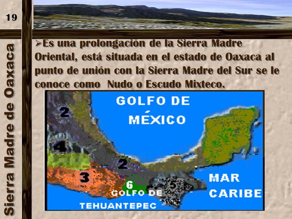 Sierra de Chiapas Su altura promedio es de 1 500 m.s.n.m. El volcán Tacaná se localiza en el límite con Guatemala, región en la que se encuentran plan
