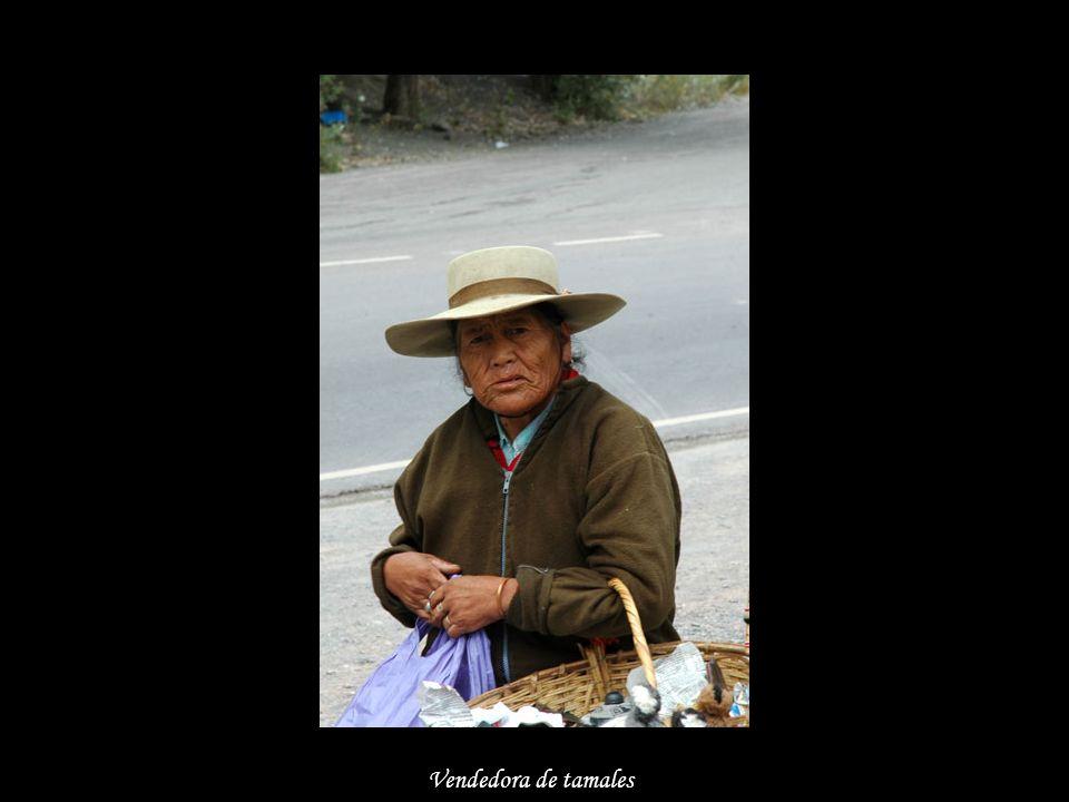 Vendedora de tamales