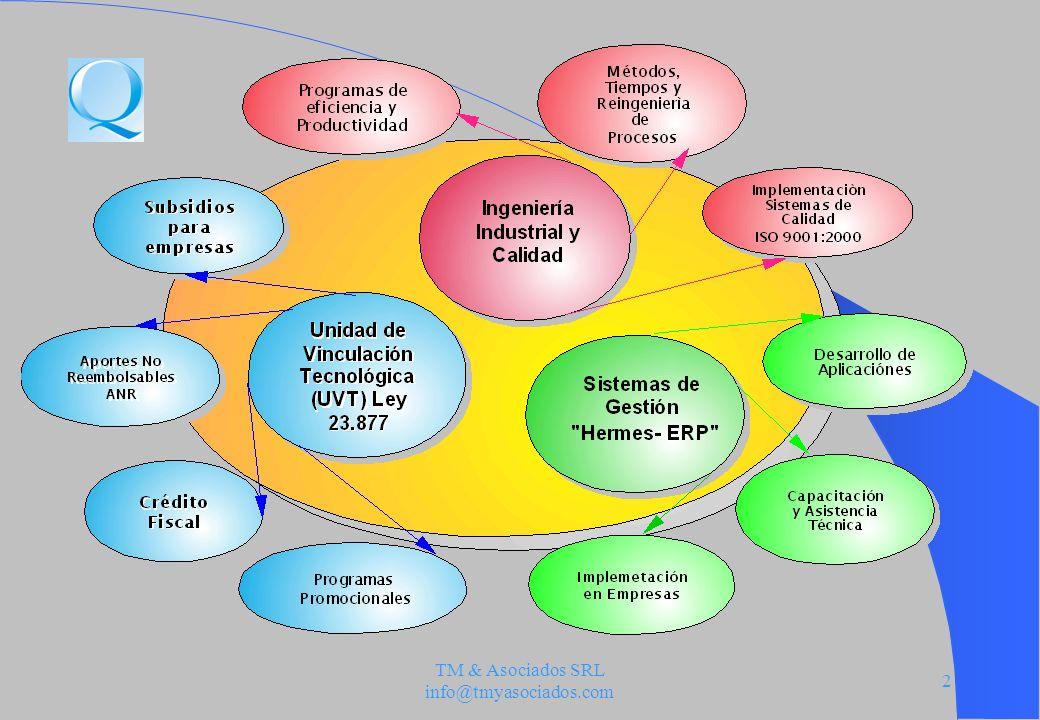 TM & Asociados SRL info@tmyasociados.com 23 Etapa 1 Encuadre del proyecto en la operatoria.