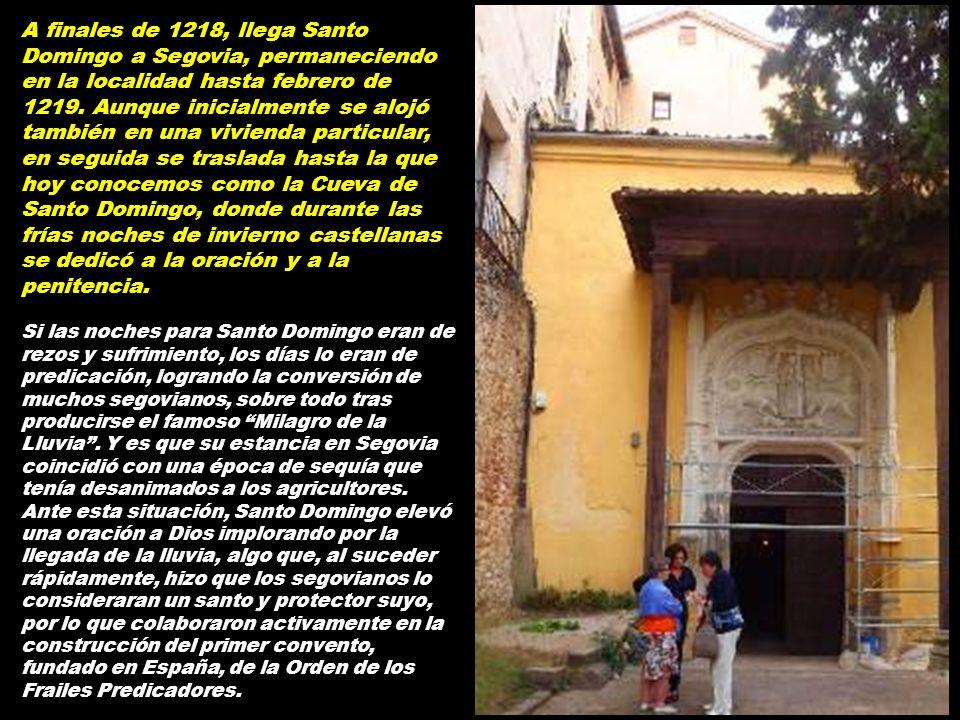 Bajada hacia la cueva desde el número 12 de la Calle Cardenal Zúñiga