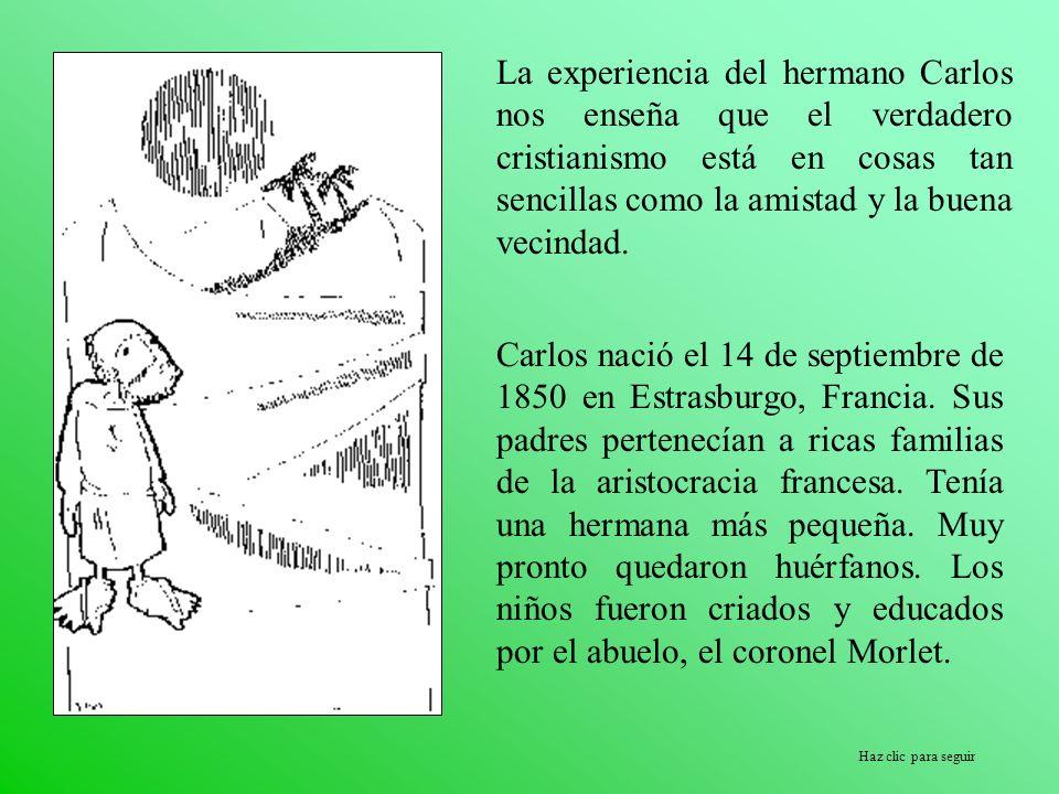 Haz clic para seguir En 1910 vuelve a Francia, y consigue la aprobación de la Fraternidad de los Hermanos y Hermanas del Sagrado Corazón de Jesús.