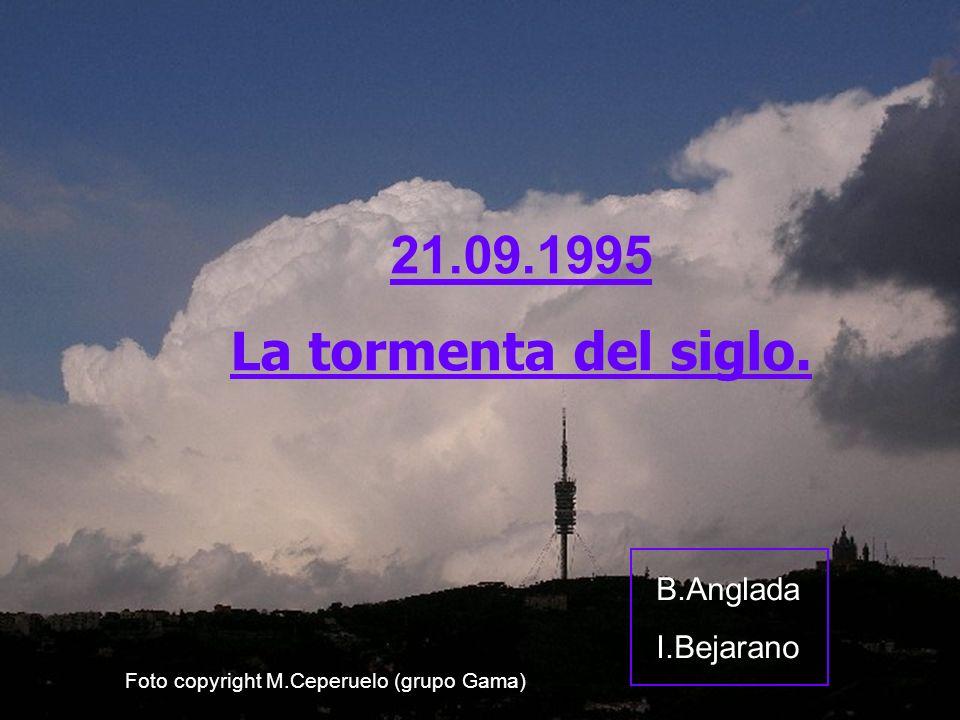 21.09.1995 La tormenta del siglo. B.Anglada I.Bejarano Foto copyright M.Ceperuelo (grupo Gama)