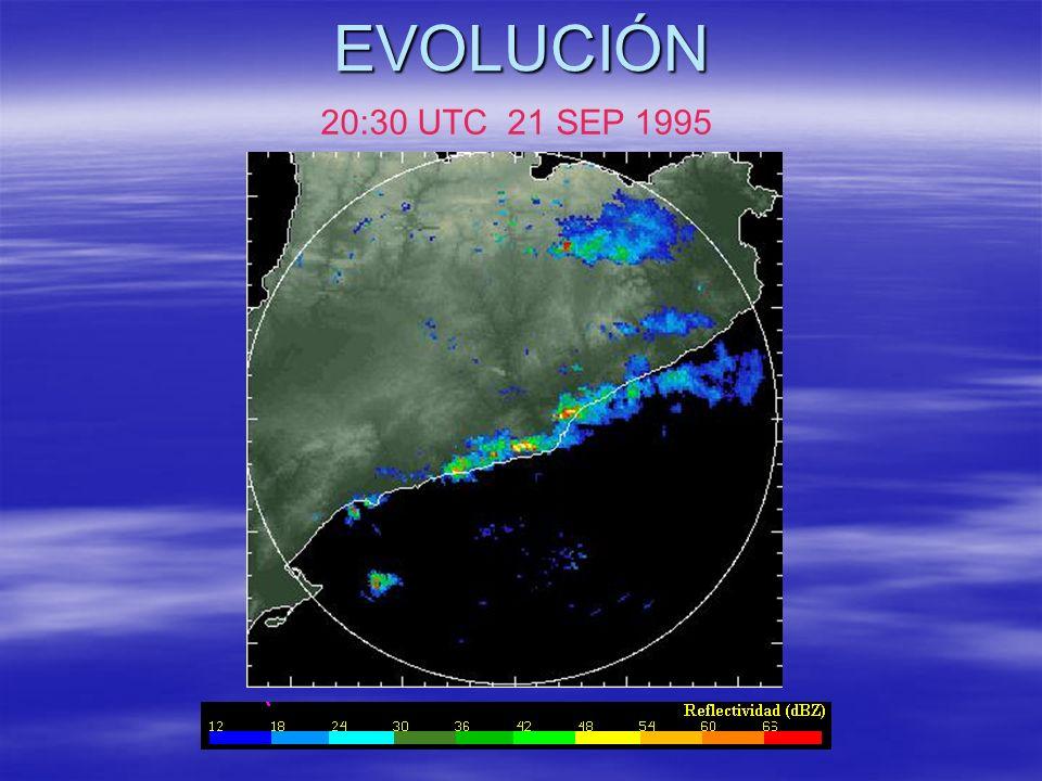 EVOLUCIÓN 20:30 UTC 21 SEP 1995